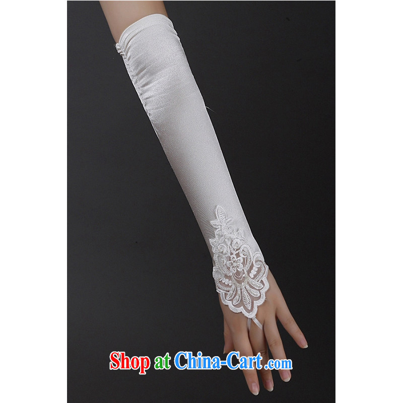 Code hang bridal bridal wedding dresses gloves, Zou white without a terrace to check the gloves 2015 new stylish wedding supplies lace, white gloves are code