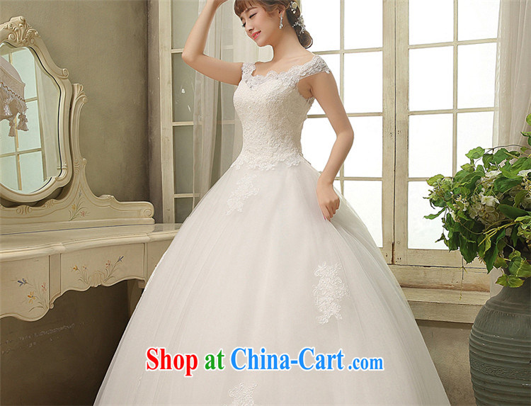 Tslyzm one shoulder wedding dresses 2015 spring and summer new marriages Korean lace beauty with shaggy white dress with S pictures, price, brand platters! Elections are good character, the national distribution, so why buy now enjoy more preferential! Health
