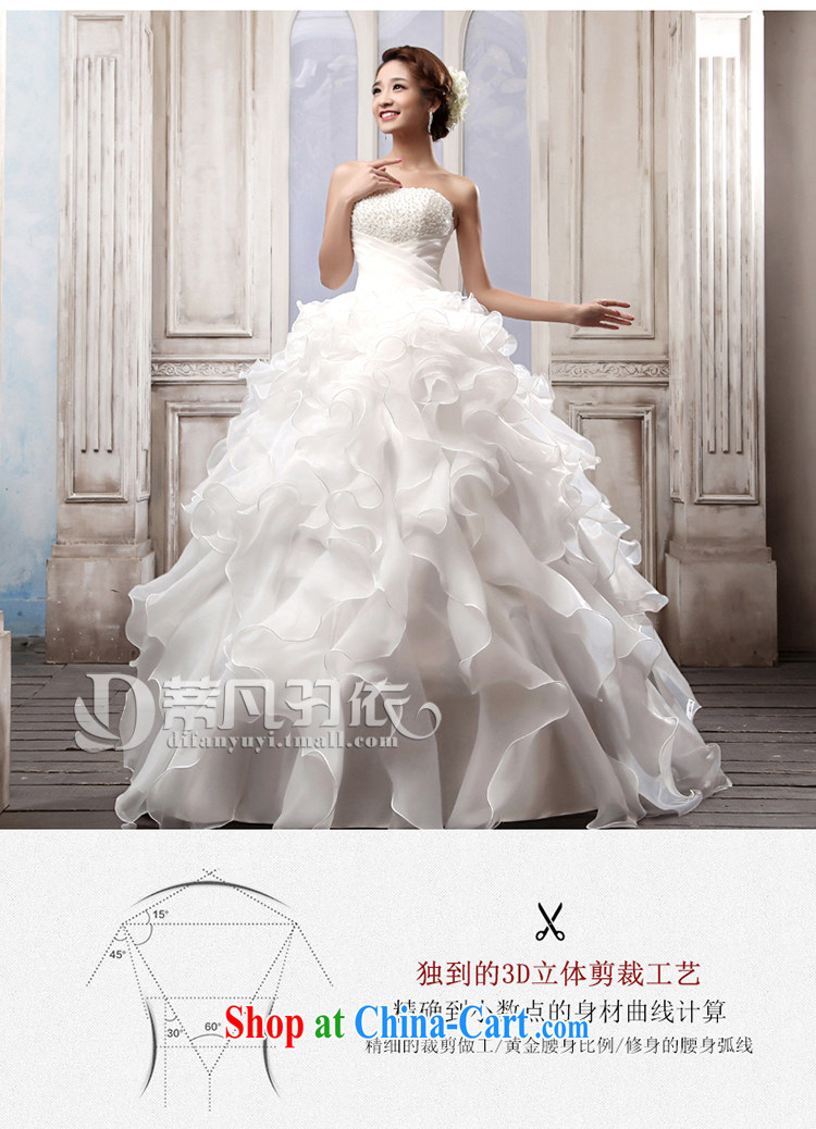 Mr. where Yu according to Korean wiped his chest wedding white Princess tie-in with wedding new 2015 bridal wedding dresses spring and summer wedding wedding beauty graphics thin wedding white XL pictures, price, brand platters! Elections are good character, the national distribution, so why buy now enjoy more preferential! Health