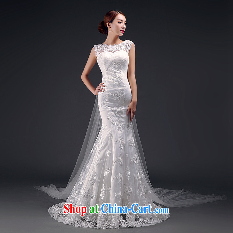 Where, in accordance with feathers wedding dresses new 2015 wedding long crowsfoot cultivating a field shoulder bridal wedding dress white XL