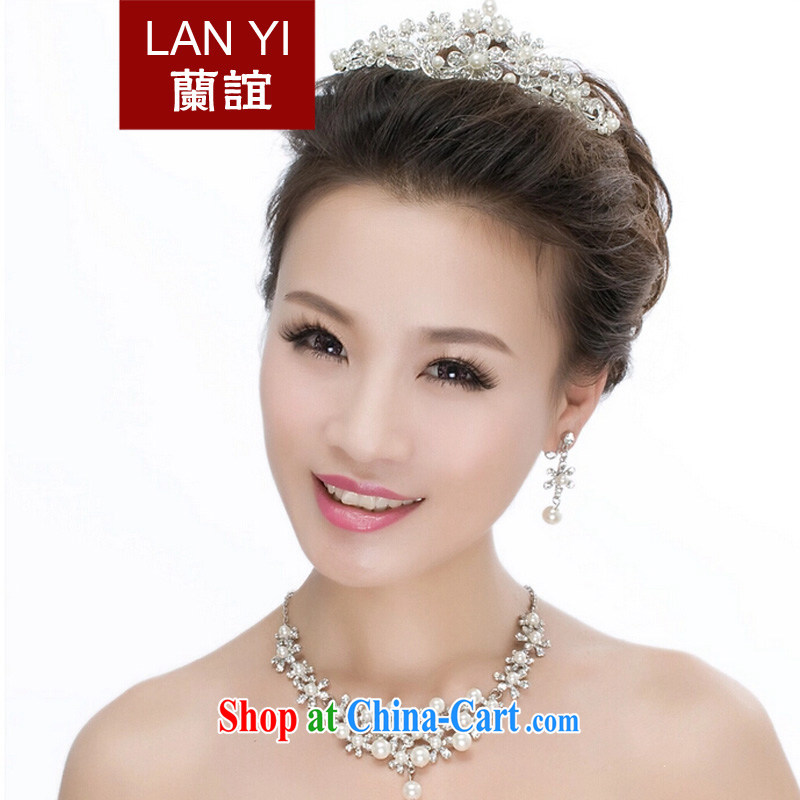 _Quakers, 2015 bridal wedding dresses accessories bridal Crown necklace earrings 3 piece wedding dresses Accessories, click the gift