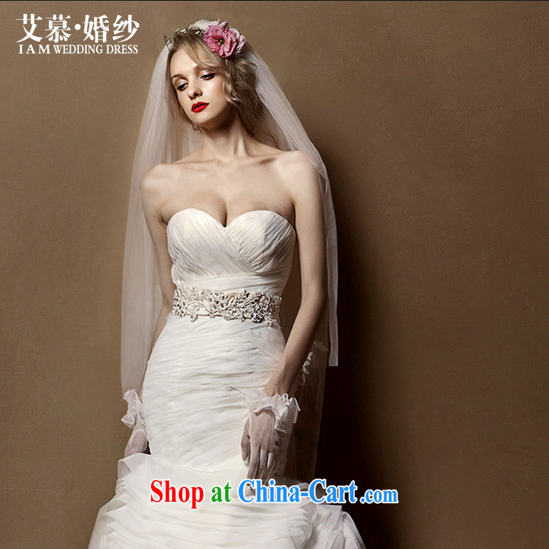 With the wedding dresses new 2015 long lace long and legal marriages required accessories accessories white