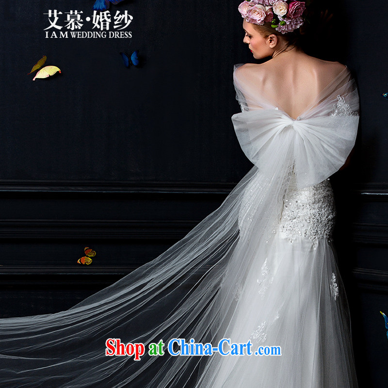 With the wedding spring 2015 new stylish Korean package shoulder the yarn wedding accessories accessories bridal wedding mandatory
