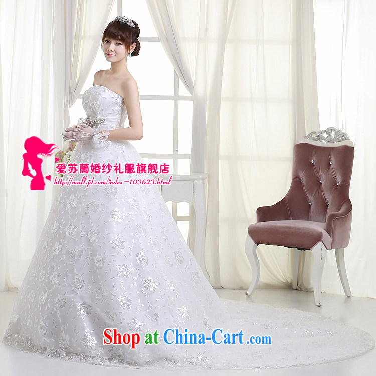 New wedding long-tail wedding bridal marriage long-tail wedding High-tail wedding H 99 white XXXL pictures, price, brand platters! Elections are good character, the national distribution, so why buy now enjoy more preferential! Health