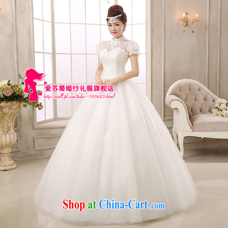 New wedding Korean style with bare chest wedding dresses Korean sweet Princess shaggy dress wedding stars with wedding a shoulder wedding white XXL pictures, price, brand platters! Elections are good character, the national distribution, so why buy now enjoy more preferential! Health