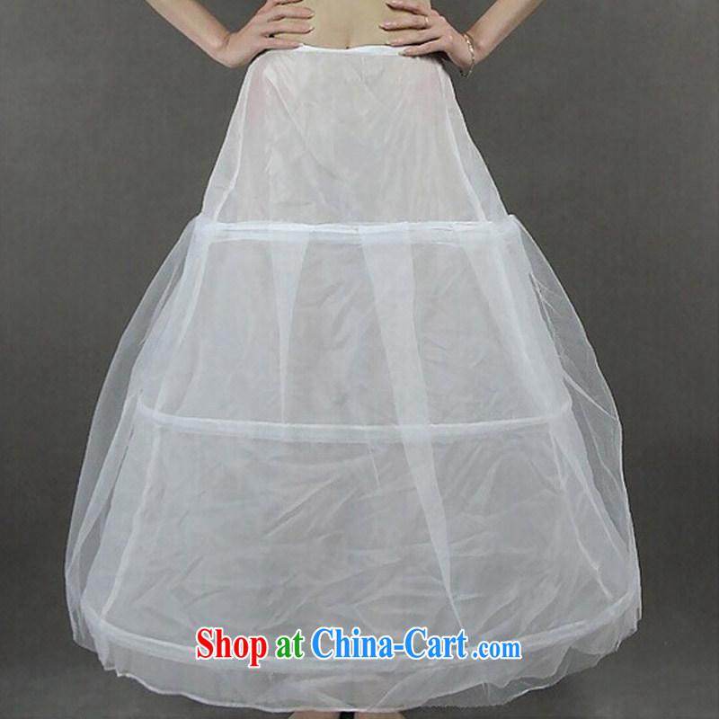 Friends, new wedding accessories skirt stays bridal wedding dress stays 3 steel ring white