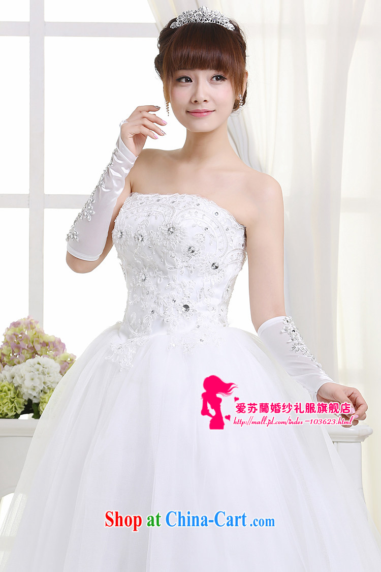 New wedding bridal wedding dresses wedding wedding dresses Princess wedding dresses white XXL pictures, price, brand platters! Elections are good character, the national distribution, so why buy now enjoy more preferential! Health