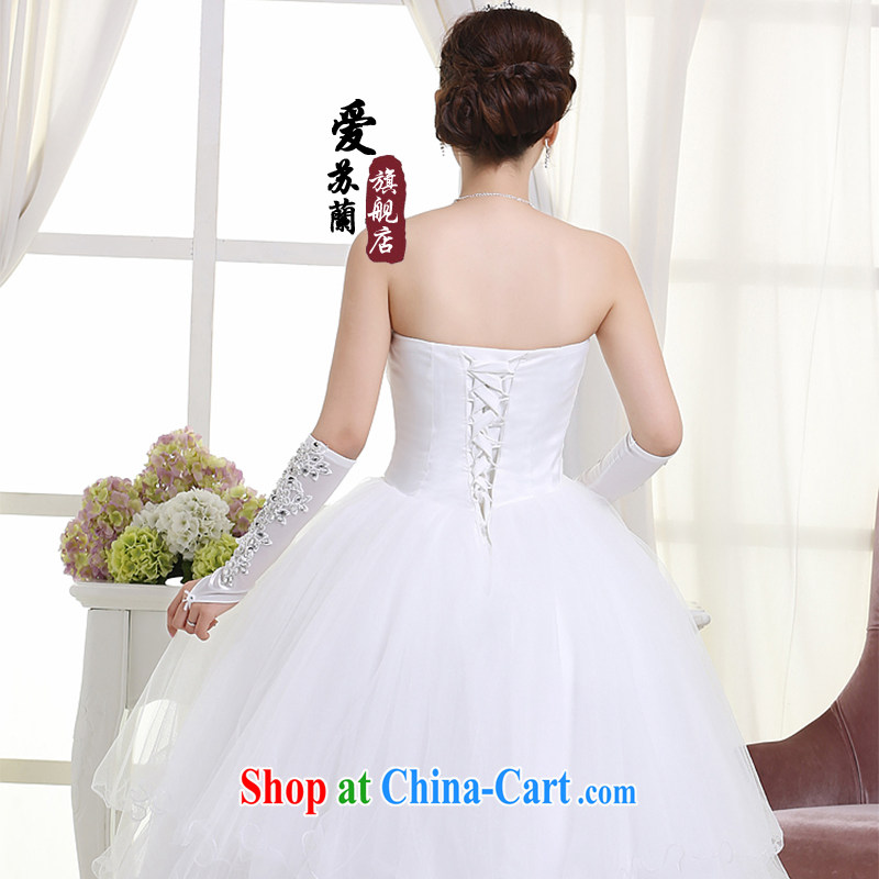 New wedding bridal wedding dresses wedding wedding dresses Princess wedding dresses white XXL so Balaam, and shopping on the Internet