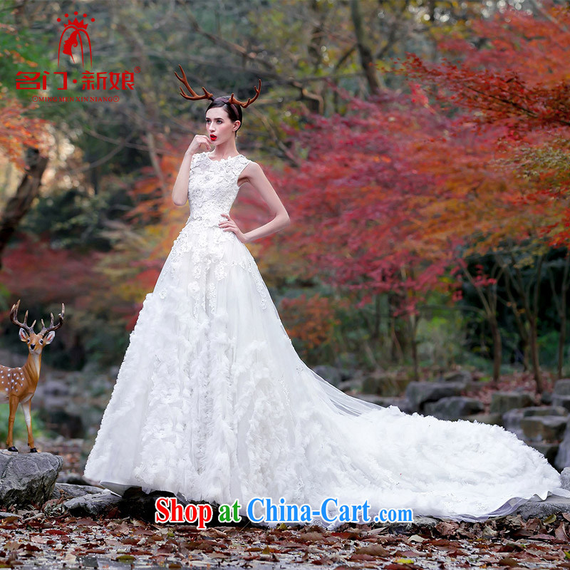 The bride's 2015 Original Design wedding dream the tail sum girls dream wedding 2509 S