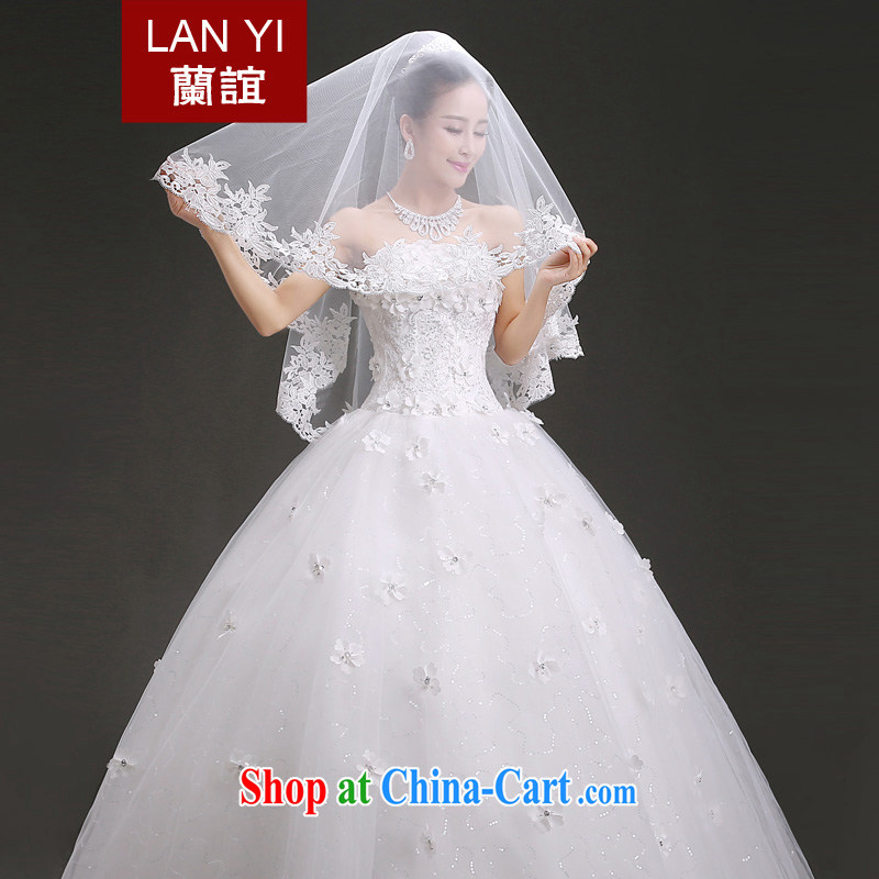 (Quakers) estimated 2015 bridal wedding dresses accessories Korean lace lace and yarn 1.5 M bridal wedding accessories and yarn. Floor wedding supplies quality assurance