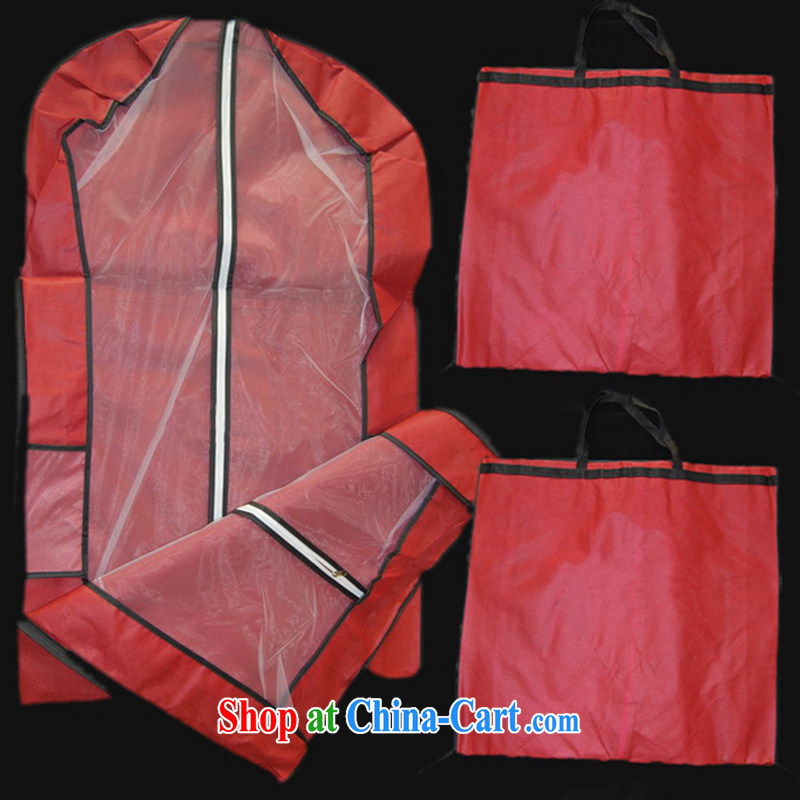 Hi Ka-hi/wedding accessories/upscale dress dust bag/Hand Shield FCD 01 red are code