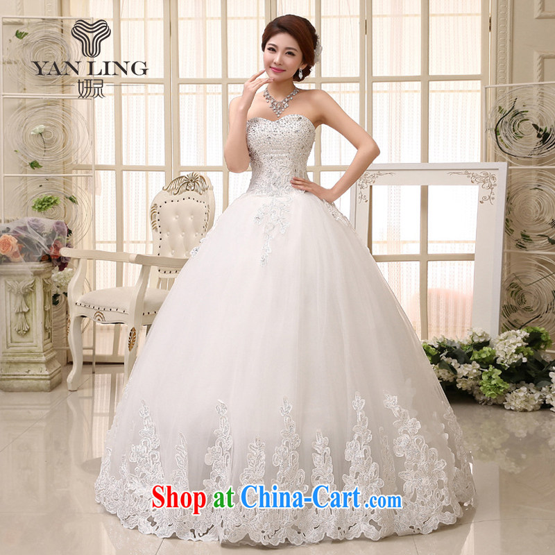 2015 bridal wedding dresses 2014 new Korean sweet elegant Princess with wedding HS 531 Princess skirt M