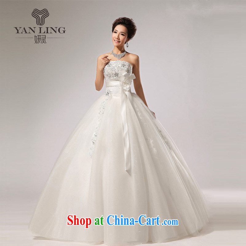 2015 new erase chest skirts wedding band bridal hotel wedding dresses skirts HS 271 white M