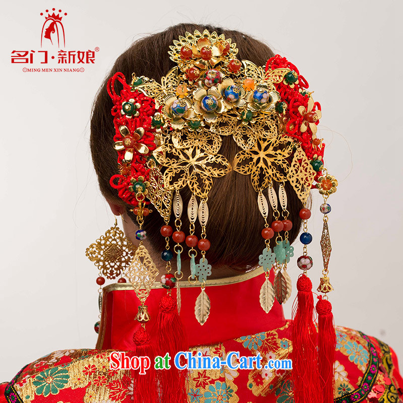 The bride's retro bridal head yarn-su Wo service head-dress of dragon head-dress classic Palace 139