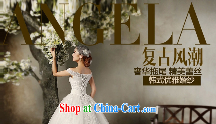 A Tslyzm field shoulder long-tail wedding dresses 2015 spring and summer new marriages beauty graphics thin retro Satin wedding dress white XXL pictures, price, brand platters! Elections are good character, the national distribution, so why buy now enjoy more preferential! Health