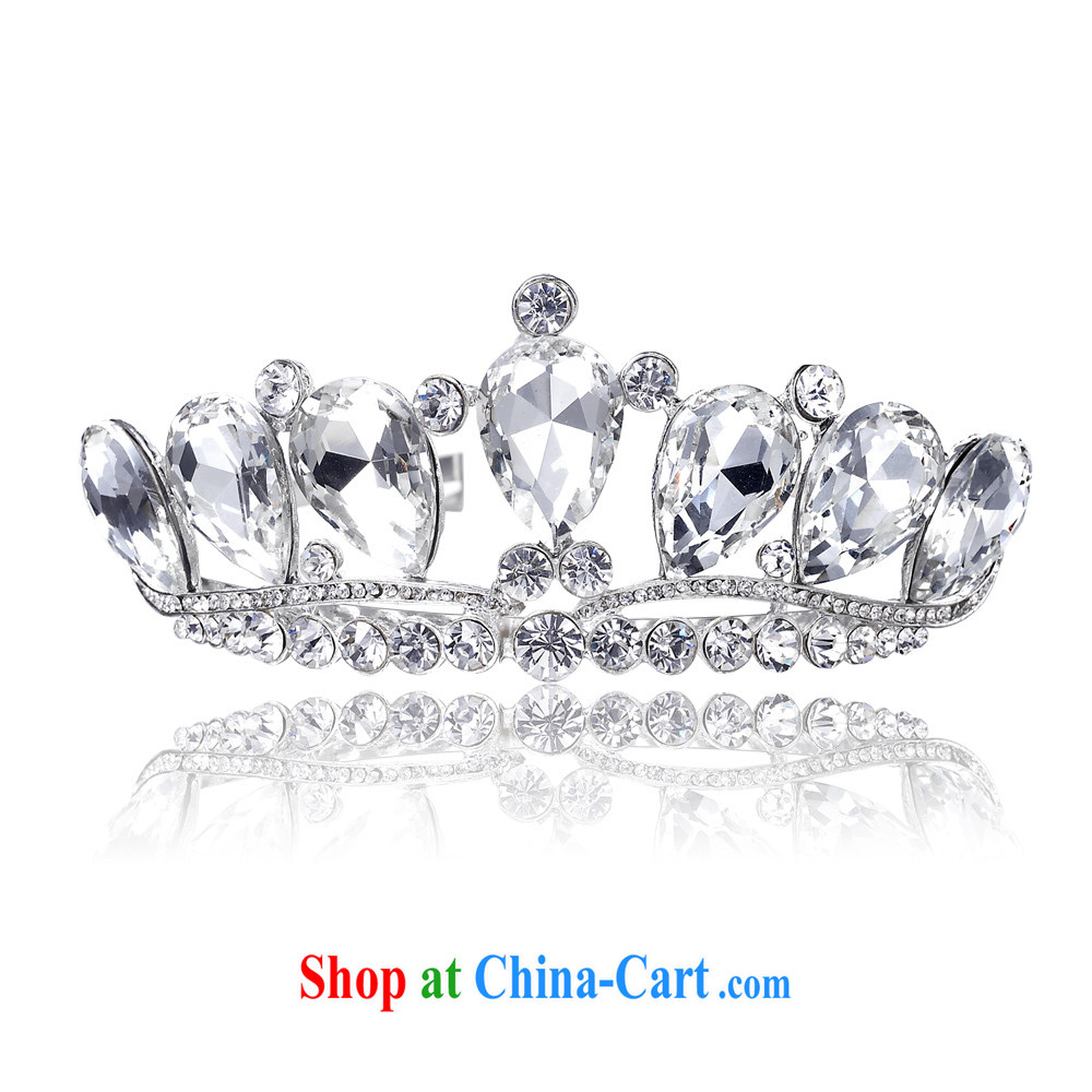 The bride bridal headdress bridal accessories bridal jewelry and ornaments wedding Crown 101 silver
