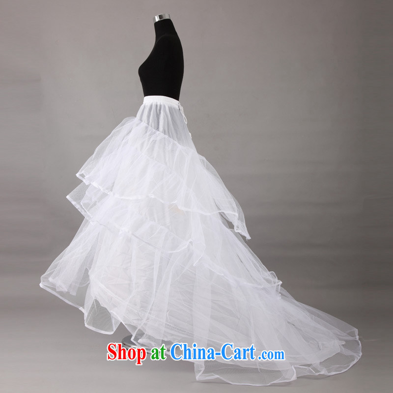 The bride's wedding dresses dedicated skirts skirt | Support | petticoats, yarn quality Tail Prop skirt the bone skirt stays 003