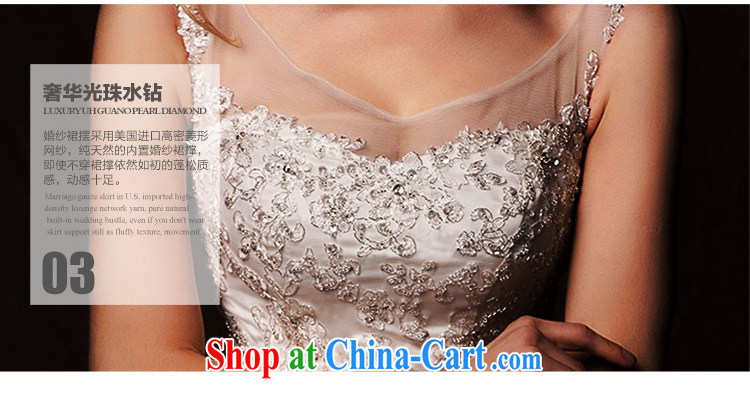 On the wedding dresses new 2015 Spring and Winter ideas cloud shoulders high waist shaggy dress lace long-tail wedding white M pictures, price, brand platters! Elections are good character, the national distribution, so why buy now enjoy more preferential! Health
