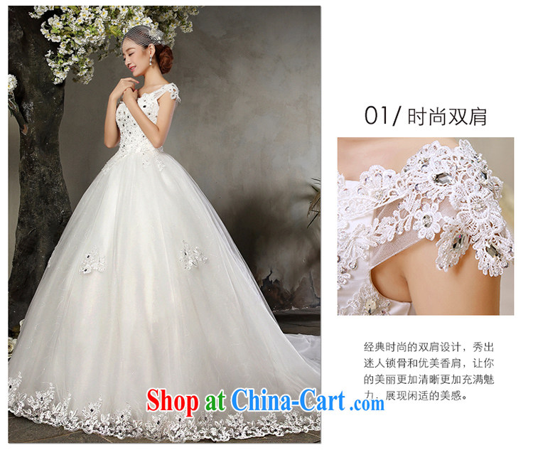 A Tslyzm field shoulder long-tail wedding dresses 2015 spring and summer new marriages V collar double-shoulder beauty lace retro wedding dress white tail wedding XL pictures, price, brand platters! Elections are good character, the national distribution, so why buy now enjoy more preferential! Health