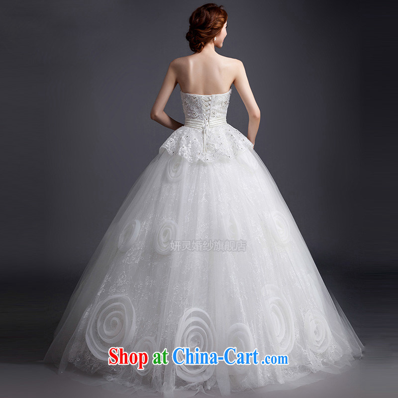 2015 new spring white wiped his chest to pregnant women wedding dresses and stylish wedding dresses the bridal wedding wedding tail wedding XL, her spirit, and shopping on the Internet
