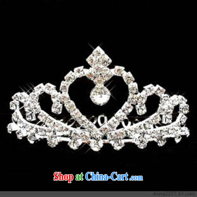 Marriage true love wedding Crown flower headdress bridal accessories stage performances jewelry bridal Crown jewelry white