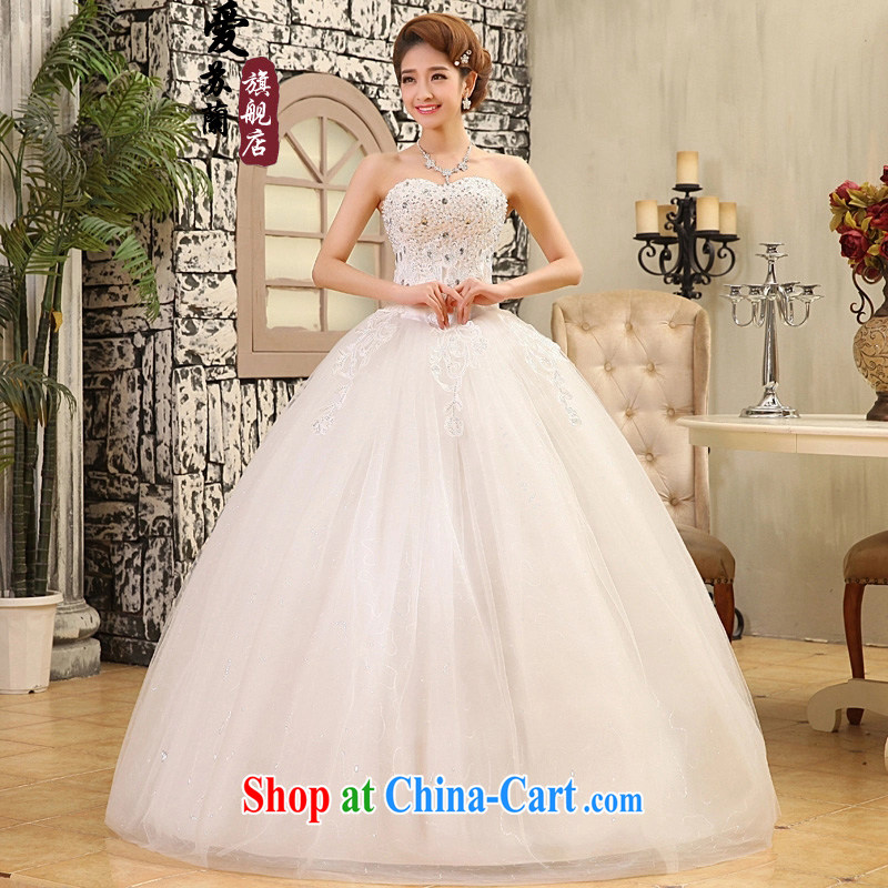 New wedding car unit lace lace, wedding dresses bridal wedding wedding popular special offers wedding white XXL