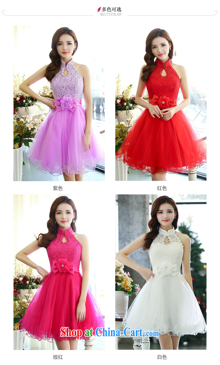 Hip Hop charm and Asia 2015 spring Korean beauty, air is also stylish shaggy chic dress wedding dress red XL pictures, price, brand platters! Elections are good character, the national distribution, so why buy now enjoy more preferential! Health