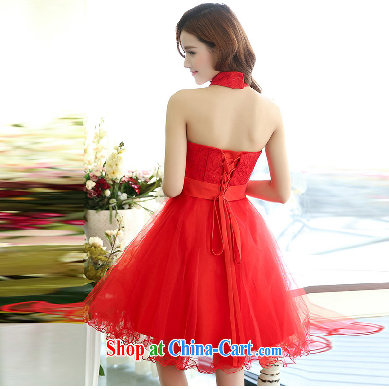 Hip Hop charm and Asia 2015 spring Korean beauty, natural gas is also stylish shaggy chic dress wedding dress red XL, charm and Barbara (Charm Bali), online shopping