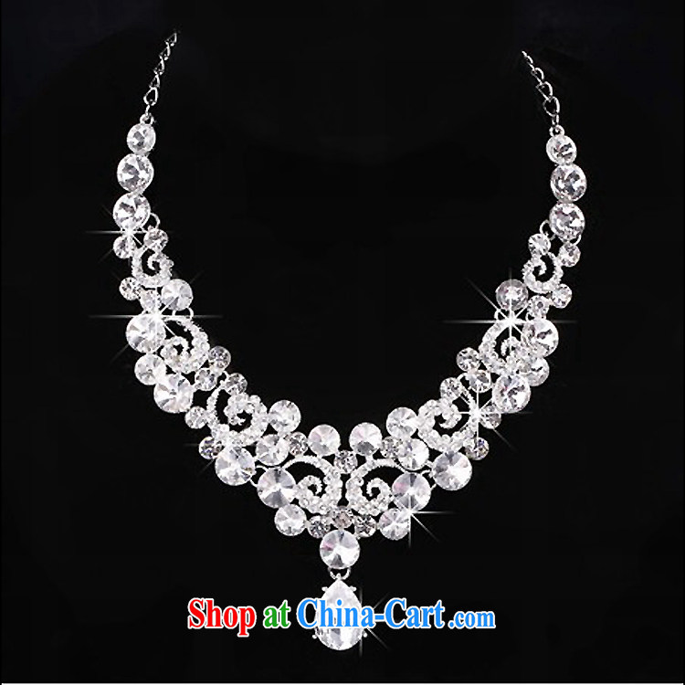 Time his bride's head-dress-trim Crown necklace earrings 3-piece set great drill jewelry hair accessories wedding wedding accessories jewelry gift box 3-piece set of pictures, price, brand platters! Elections are good character, the national distribution, so why buy now enjoy more preferential! Health