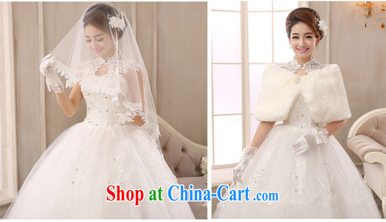 Marriage wedding dresses 2015 new, modern white lace-up collar package shoulder back with retro graphics thin white XS pictures, price, brand platters! Elections are good character, the national distribution, so why buy now enjoy more preferential! Health