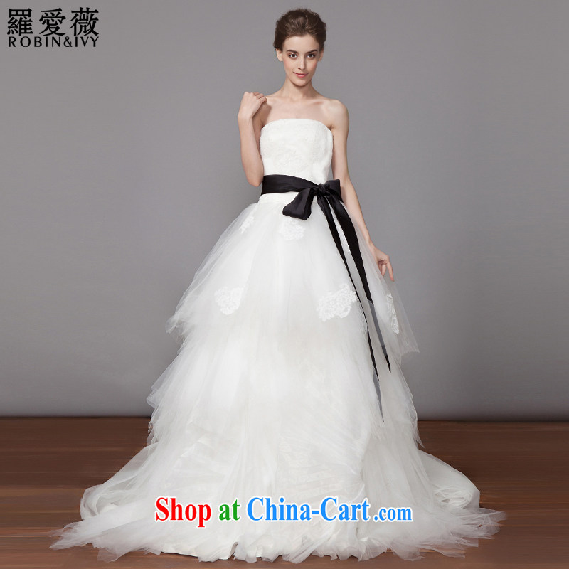 Love, Ms Audrey EU Yuet-mee, RobinIvy) 2015 new verawang wind bride Mary Magdalene chest butterfly wedding dresses H 33,514 white tailored