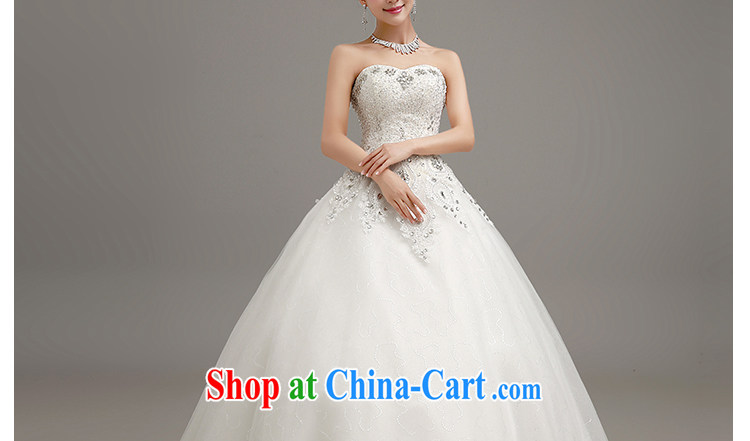 Beautiful ornaments 2015 new wedding Luxury Water drilling erase chest wedding bridal marriage Princess shaggy white dress with, make contact Customer Service pictures, price, brand platters! Elections are good character, the national distribution, so why buy now enjoy more preferential! Health