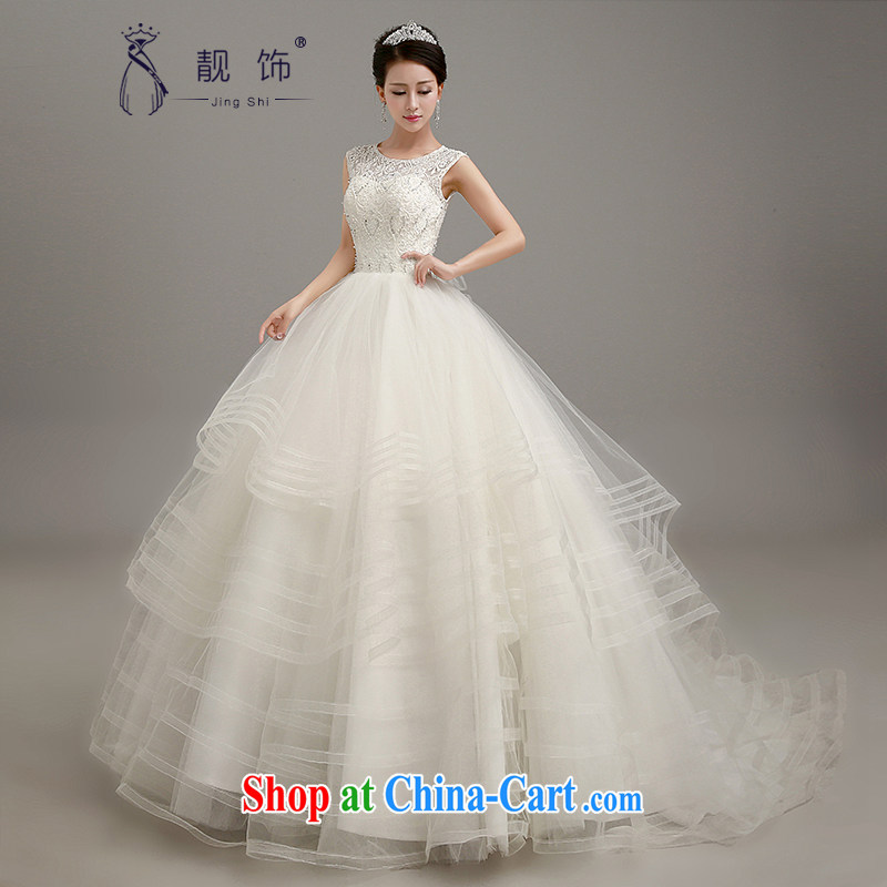 Beautiful ornaments 2015 new wedding dresses one shoulder wedding dresses bridal wedding wedding exclusive lace graphics thin wedding white tail section. contact Customer Service