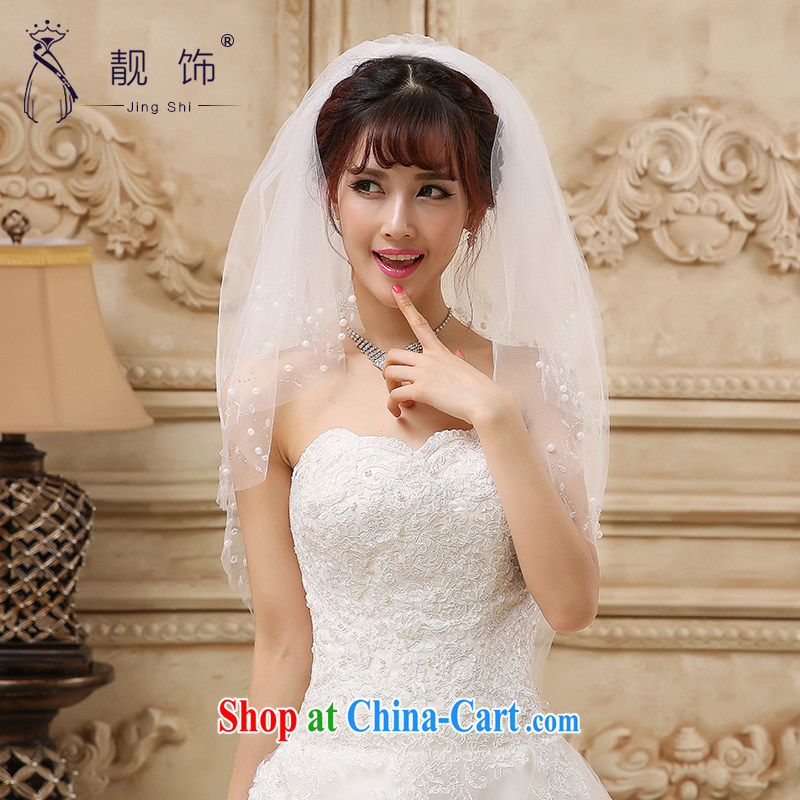Beautiful ornaments 2015 new multi-storey, white water drilling bridal head yarn white staples 094 Pearl, beautiful furnishings (JinGSHi), and, shopping on the Internet