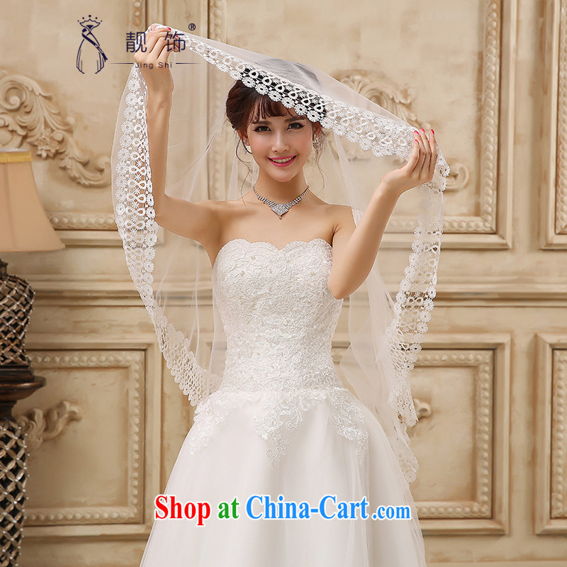 Beautiful ornaments 2015 new water-soluble lace lace bridal wedding dresses and wedding accessories white head yarn 076