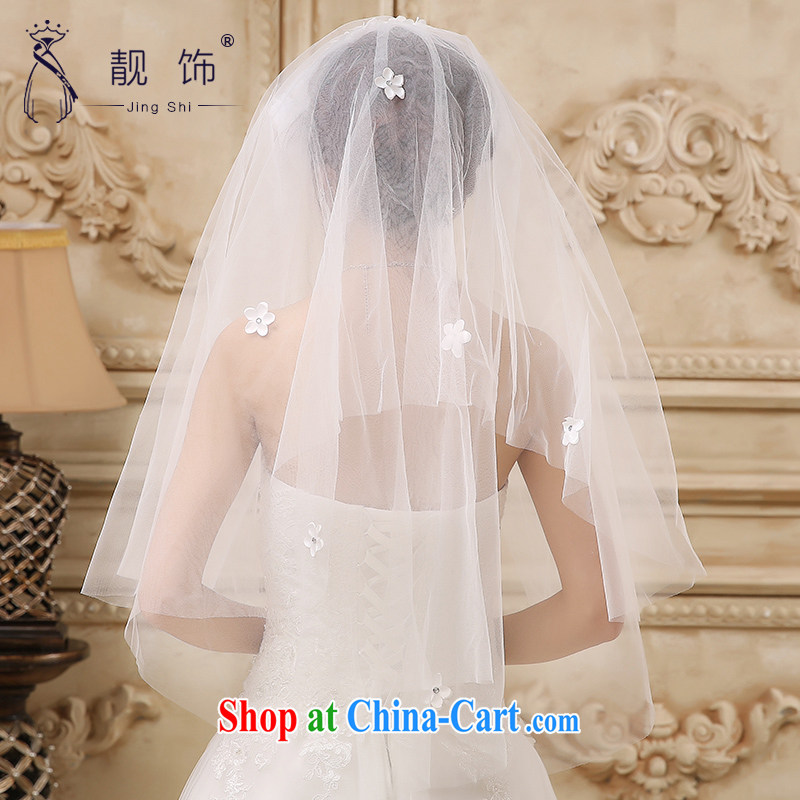 Beautiful ornaments 2015 new hat flowers double bride and legal marriage wedding accessories accessories white 030, beautiful ornaments JinGSHi), and shopping on the Internet