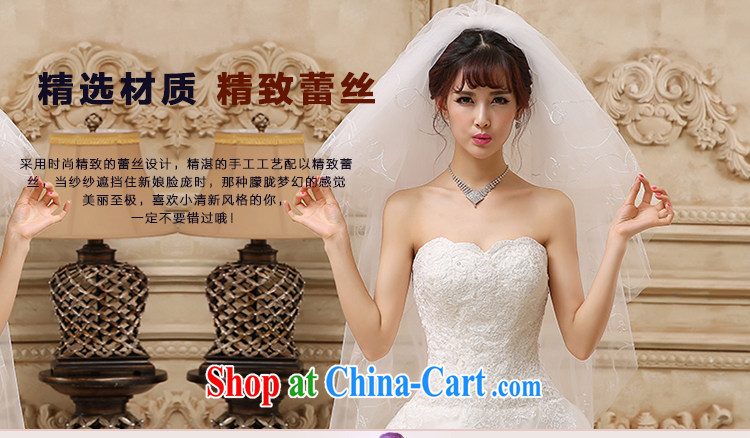 Beautiful ornaments 2015 new white Deluxe Water drilling lace multi-layer delay marriages long and legal wedding accessories accessories white long and legal 032 pictures, price, brand platters! Elections are good character, the national distribution, so why buy now enjoy more preferential! Health