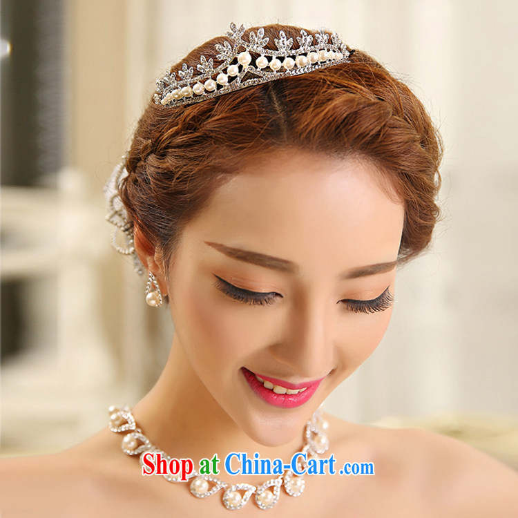 Honey, bride necklace set bridal wedding wedding ceremony dress, necklaces earrings Crown wedding ceremony dress accessories pictures, price, brand platters! Elections are good character, the national distribution, so why buy now enjoy more preferential! Health