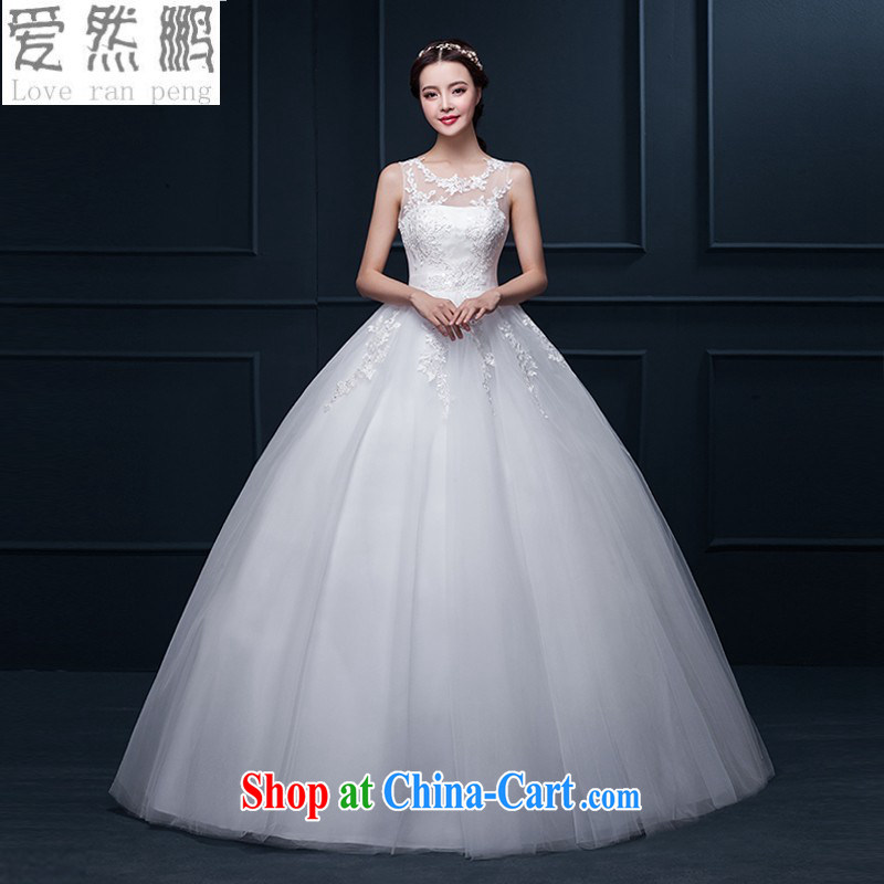 Love, Norman wedding dresses 2015 winter new Korean minimalist double-shoulder alignment, and lace wedding Wedding Video thin bridal wedding XL pieced