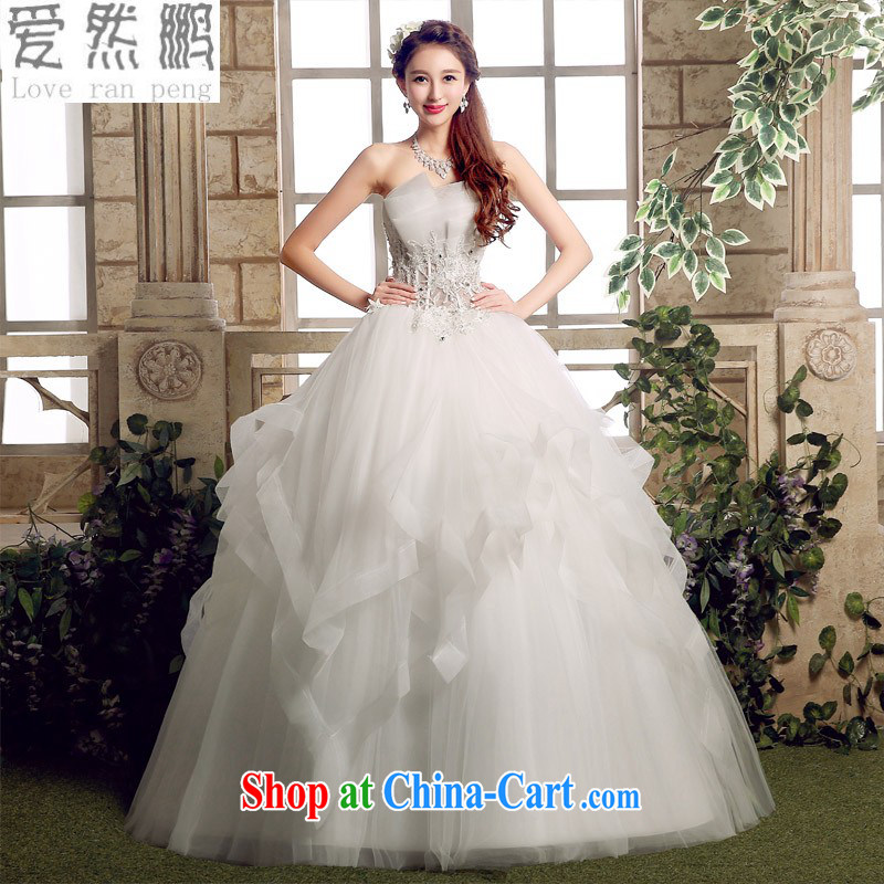 Love, Norman spring 2015 winter new bridal wedding dresses wiped his chest to cultivating graphics thin Korean version simple and stylish Custom size to be done will not be returned.
