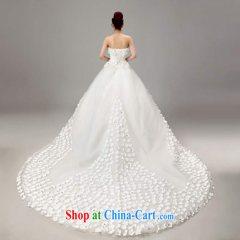 Baby bridal new 2015 wedding dresses shoulders Korean Beauty and the bride's wedding Spring Summer white XXL, my dear Bride (BABY BPIDEB), online shopping