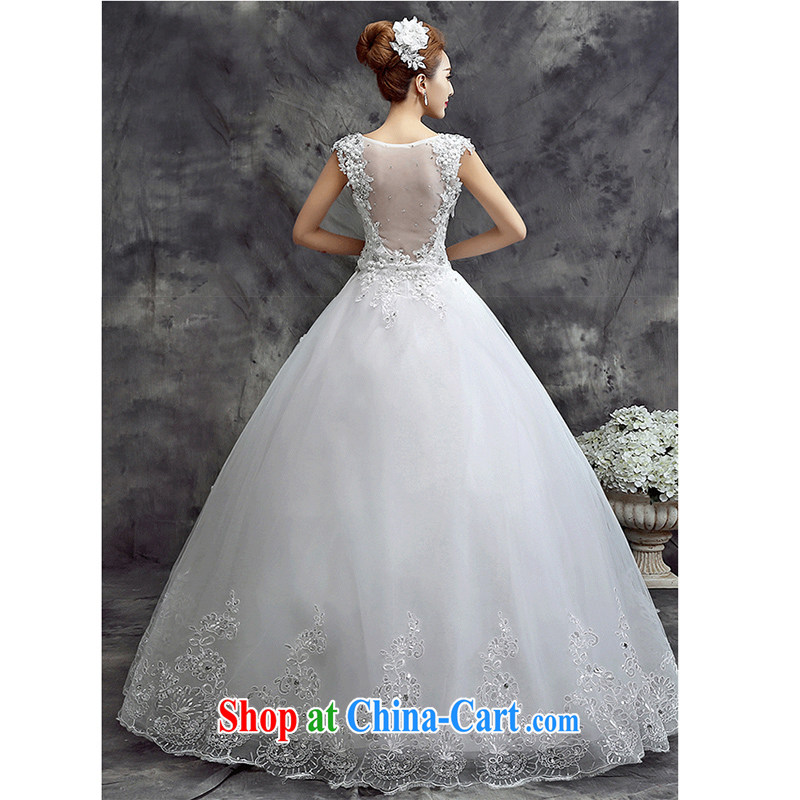 7-Color 7 tone Korean version 2015 New Field shoulder Sau San tied with Korean brides wedding dresses H 071 shoulders, M, 7 color 7 tone, shopping on the Internet