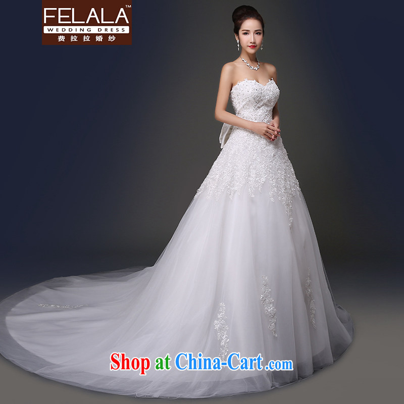 Ferrara 2015 spring and summer new shining light, erase chest A Field ultra-sin-tail wedding XL (2 feet 2), Ferrara wedding (FELALA), shopping on the Internet