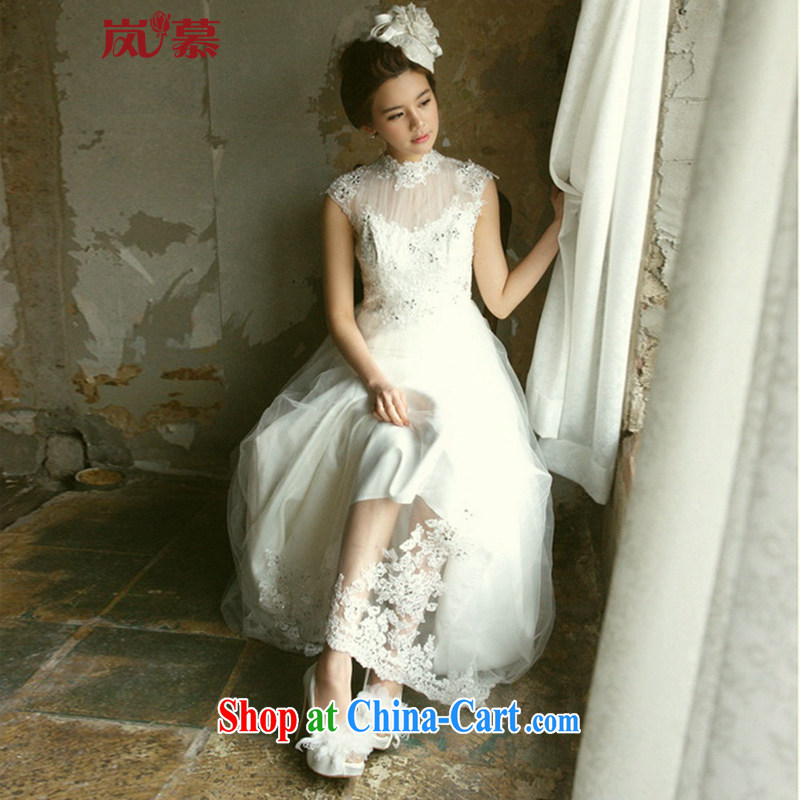 LAURELMARY sponsors the 2015 new Korean conservative style tail fairy wedding dresses super beauty, Ivory Custom size (please contact Customer Service)