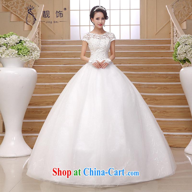 Beautiful ornaments 2015 new stylish wedding elegant retro upscale lace field shoulder wedding white with shaggy skirts white. Contact customer service