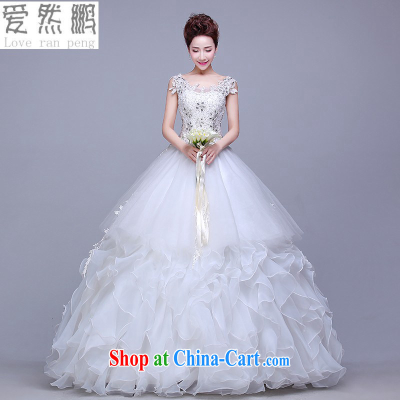 wedding dresses New Spring, Summer 2015 brides in short about Korean-style marriage double-shoulder the Field shoulder alignment to the Code wedding Customer to size the Do not be returned.