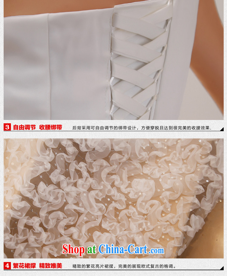 wedding dresses 2015 new large tail Korean single shoulder sweet Princess Deluxe long-tail white XL pictures, price, brand platters! Elections are good character, the national distribution, so why buy now enjoy more preferential! Health