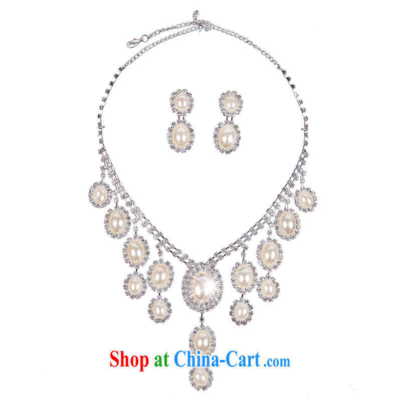 Bridal jewelry set link marriage jewelry wedding accessories bridal necklace bridal jewelry, Hyatt, married, and shopping on the Internet