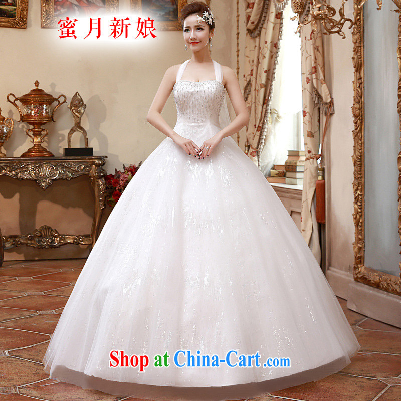 Honeymoon bridal 2015 spring female graphics thin alignment to hang also wedding dresses simple and refreshing wedding white XL