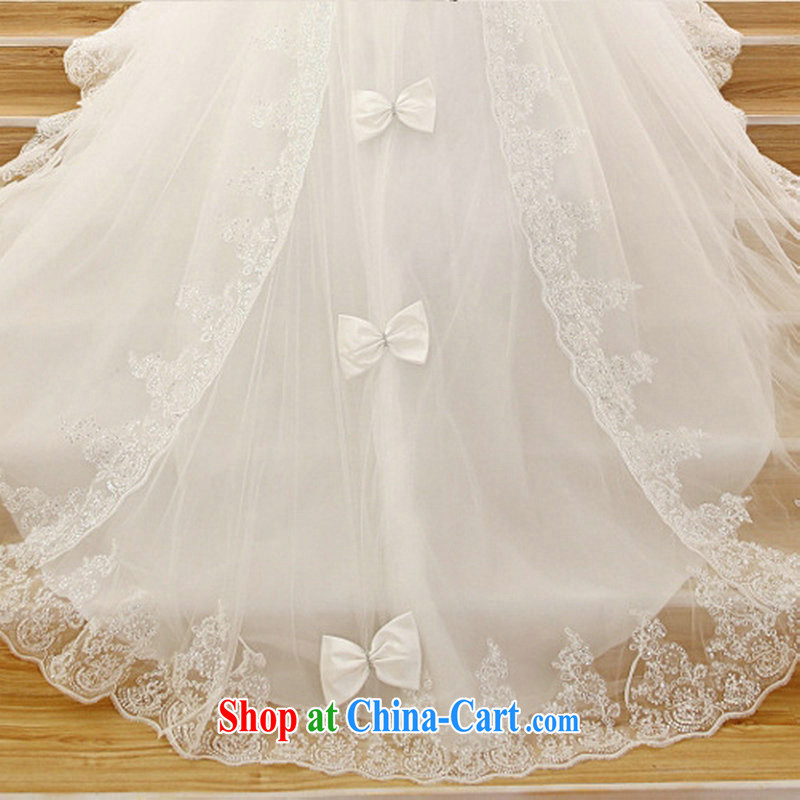 Optimize Philip Wong 2015 new Korean long-tail erase chest lace-tail wedding HS 001 XXL, optimize, and shopping on the Internet